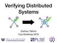 Verifying Distributed Systems