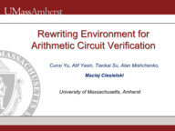 Rewriting Environment for Arithmetic Circuit Verification