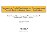 Accelerating Parallel Verification via Complementary Property Partitioning and Strategy Exploration