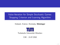 Value Iteration for Simple Stochastic Games: Stopping Criterion and Learning Algorithm