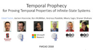 Temporal Prophecy for Proving Temporal Properties of Infinite-State Systems
