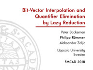 Bit-Vector Interpolation and Quantifier Elimination by Lazy Reduction