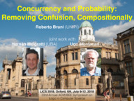 Concurrency and Probability: Removing Confusion, Compositionally