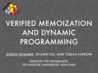 Verified Memoization and Dynamic Programming