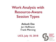 Work Analysis with Resource-Aware Session Types