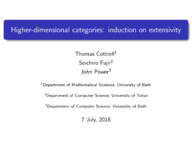 Higher-dimensional categories: induction on extensivity