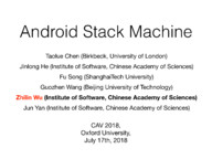 Android Stack Machine