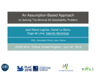 An Assumption-Based Approach for Solving The Minimal S5-Satisfiability Problem