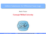 Uniform Substitution for Differential Game Logic