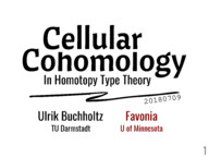 Cellular Cohomology in Homotopy Type Theory