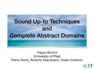 Sound up-to techniques and Complete abstract domains