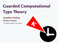 Guarded Computational Type Theory