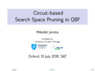 Circuit-based Search Space Pruning in QBF