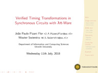 Verified Timing Transformations in Synchronous Circuits with LambdaPi-Ware