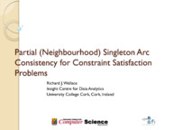 Partial (Neighbourhood) Singleton Arc Consistency for Constraint Satisfaction Problems